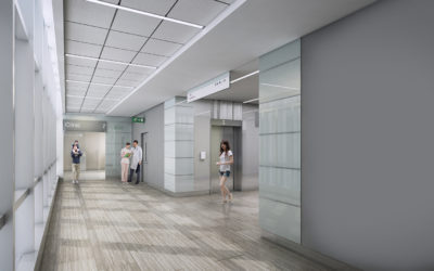 3d_interior_rendering_National_skin_Centre_floor_lobby