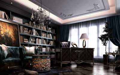 3d_interior_rendering_Study_Room_02