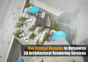 Tips 3D Architectural Rendering Dubai Aerial View