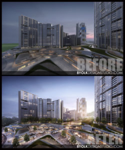 3d-post-production-rendering-mixed-used-development