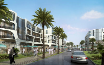 3d-architectural-rendering-dubai-design-competition-day-street