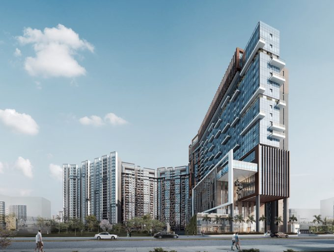 3D Residential Project at Avenue 54 India
