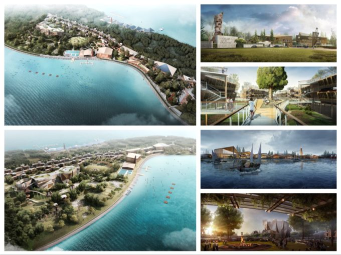 3D rendering services for Outward Bound Singapore,OBS @ Coney Island Singapore