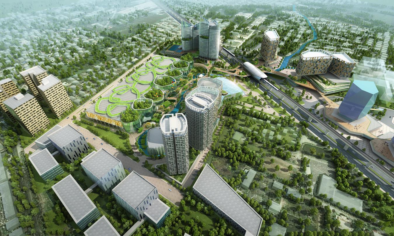 3d Masterplan Renderings 3d Architectural Rendering