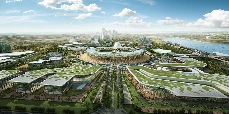 3D Masterplan Renderings – 3D Architectural Rendering Singapore
